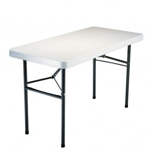 Table pliante rectangulaire 4 pers for Table a carte pliante